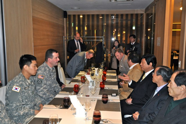 Garrison strengthens relationship with Itaewon