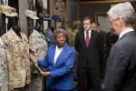 Army Secretary Sees Science behind the Soldier at Natick Labs