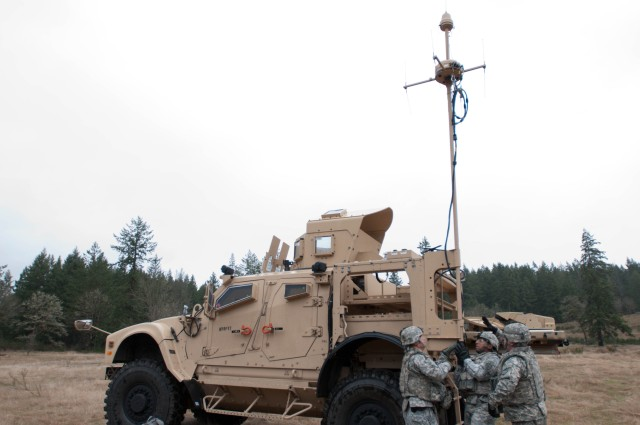 Soldiers train on upgraded PROPHET systems 1