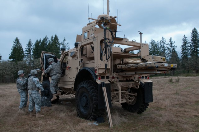 Soldiers train on upgraded PROPHET systems