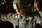 XVIII Airborne Corps senior leaders jump with Army's new, T-11 parachute