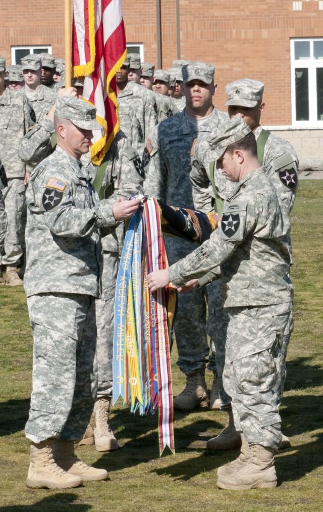 JBLM units receive Navy Presidential Unit Citation