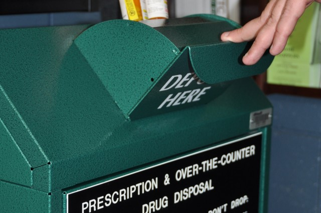 Army installations across the United States are once again partnering with the U.S. Drug Enforcement Agency and state and local law enforcement agencies, April 28, 2012, in support of the fourth National Prescription Drug Take-Back Day.
