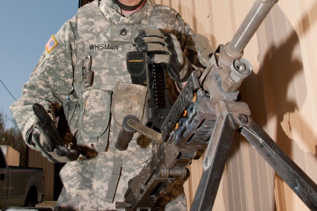 Staff Sgt. Markus Whisman won the 2012 RDECOM Noncommissioned Officer of the Year competition.