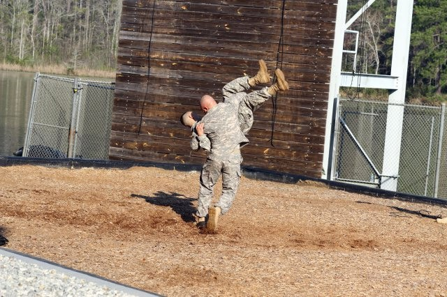 Army Ranger demo hand-to-hand combat
