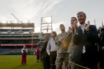 Army Secretary supports the Wounded Warrior Amputee Softball Team