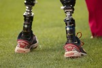 Wounded Warrior covers 1st base