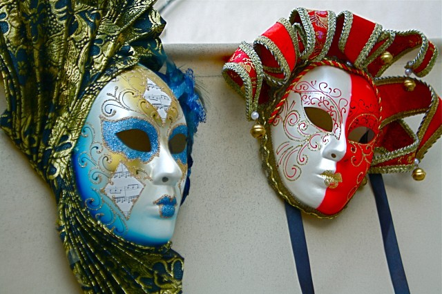 Local artisans capture the spirit of Venice and echoes of Carnevale in the faces of handcrafted masks.