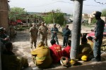Afghani firefighters, U.S. military police, come together for Kandahar
