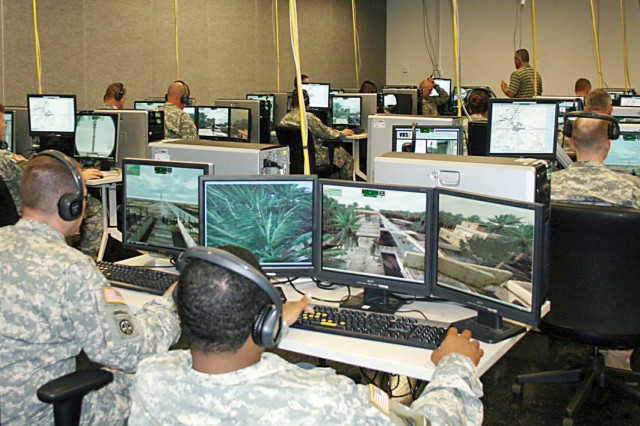 Soldiers use virtual technology to prepare for battlefield ...