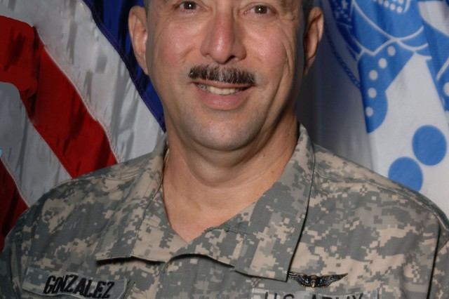 Lt. Col. (Dr.) Diego Gonzalez received the Pine Bluff Arsenal's Federal Women's Program Supervisor of the Year award for 2012.