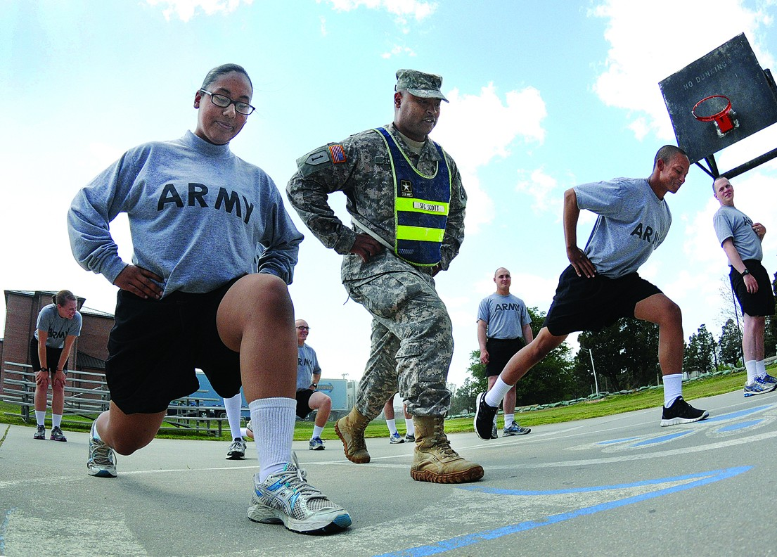 Army Looks To Reduce Physical Training Injuries Article