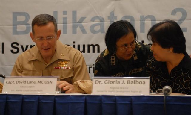 Shoulder-to-shoulder cooperation invests in knowledge at Philippine, U.S. medical symposium