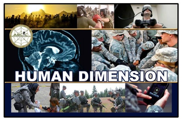 "Experts from inside and outside the Army will meet April 17-20, 2012, to discuss how the Army can use the ""Human Dimension"" concept to better understand how we recruit, train, develop, and retain the best personnel for the future Army."