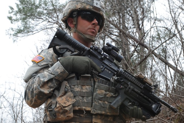 Soldiers from the 1st Battalion, 21st Infantry Regiment, 2nd Brigade Combat Team, 25th Infantry Division trained with the ROK Army at Rodriguez Range April 13.