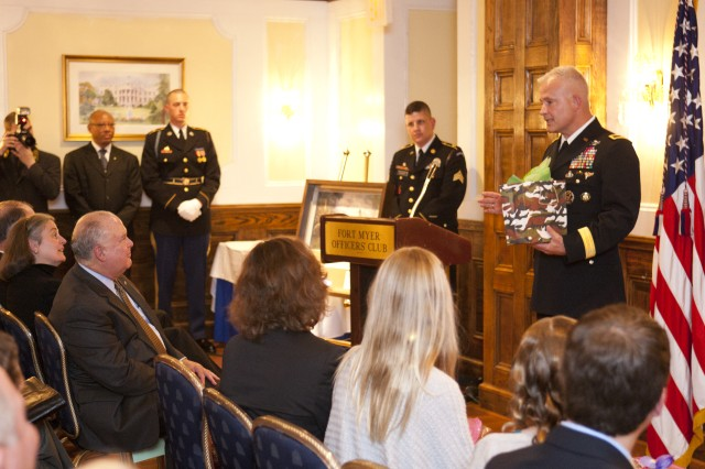 Thompson promoted to brigadier general in the U.S. Army