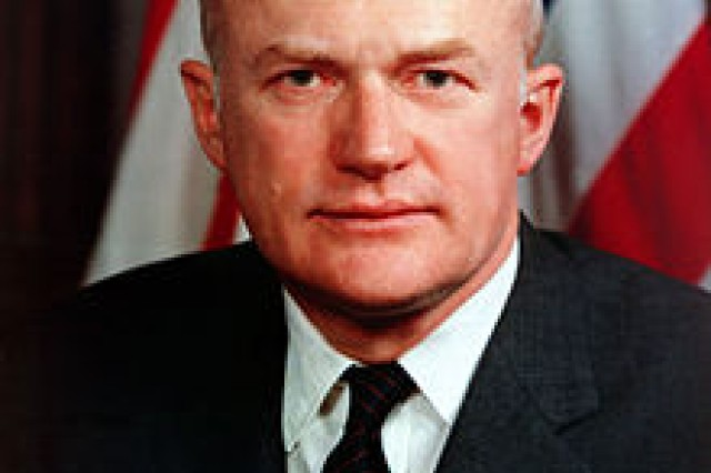 Secretary of the Army Stanley Rogers Resor died at his home in Washington, D.C., April 17, 2012, at the age of 94.
