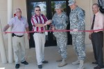Equipment Concentration Site #43 holds Ribbon Cutting