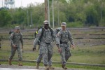 WTB Soldiers march to Children's Hospital