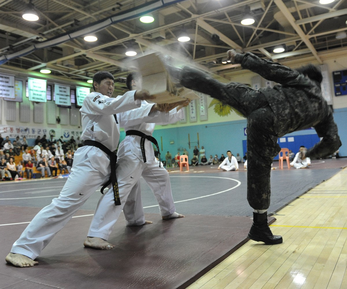 Combined Forces Command hosts Tae Kwon Do competition in Korea