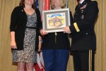 Soldier receives BOSS volunteer of the year award