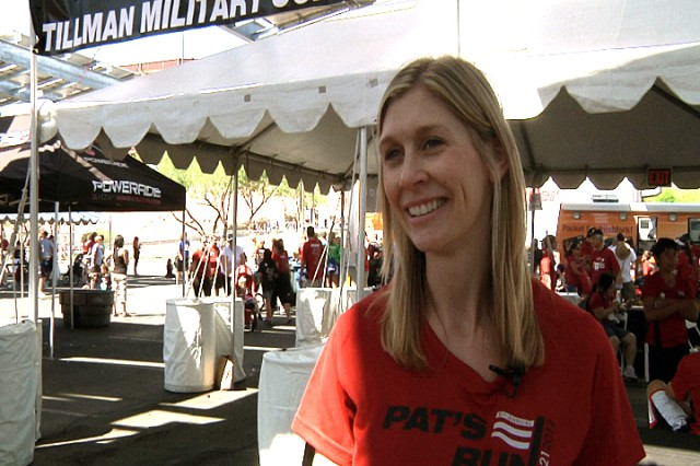 Marie Ugenti Tillman, whom Pat married just before enlisting in the Rangers, is president and co-founder of the Pat Tillman Foundation.