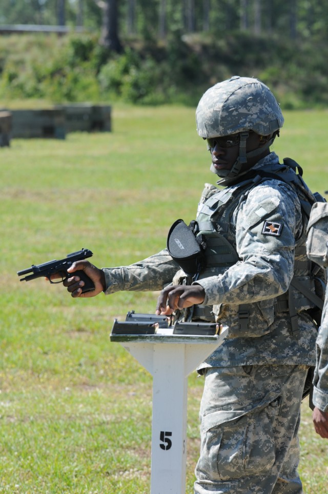 412th Theater Engineer Command 2012 Best Warrior Competition day two