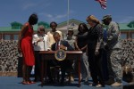 President Obama signs education assistance executive order