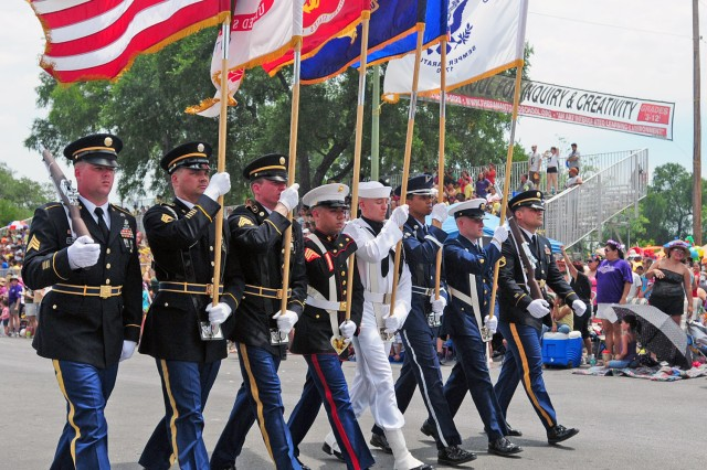 Military Civilian Community Members Celebrate Battle Of