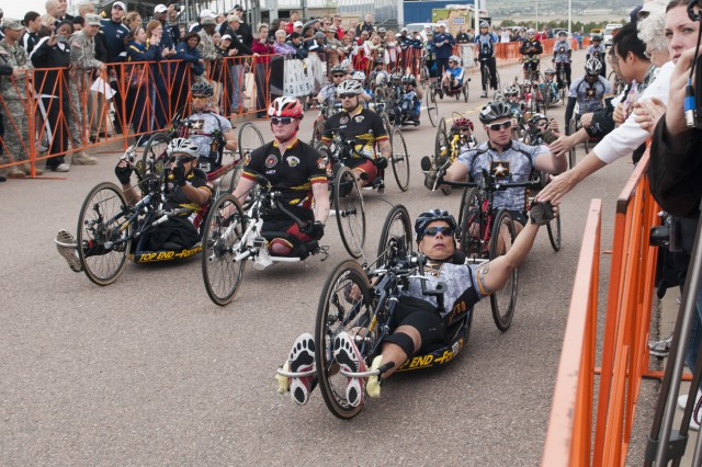 Warrior Games - Cycling
