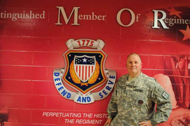 Chief Warrant Officer 4 Troy Skaggs, an instructor with the Soldier Support Institute's Adjutant General School, was named TRADOC Instructor/Facilitator of the Year in the warrant officer category.