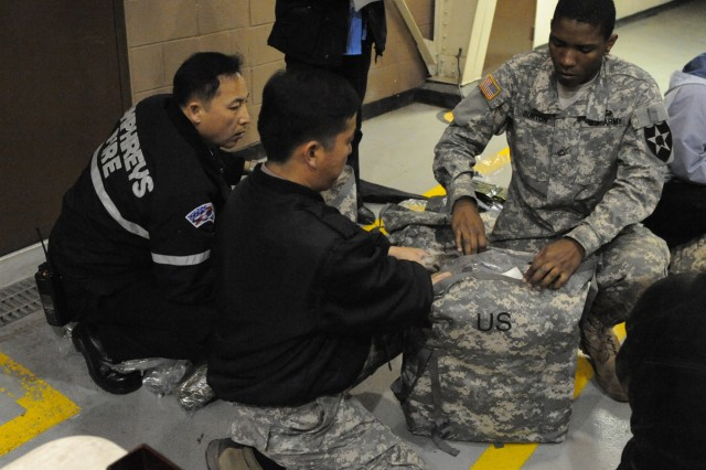 Eighth Army is issuing new personal protective gear to military personnel stationed in South Korea.