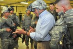 Panetta uses Dismounted Soldier Training System