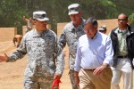 Panetta observes training at Fort Benning