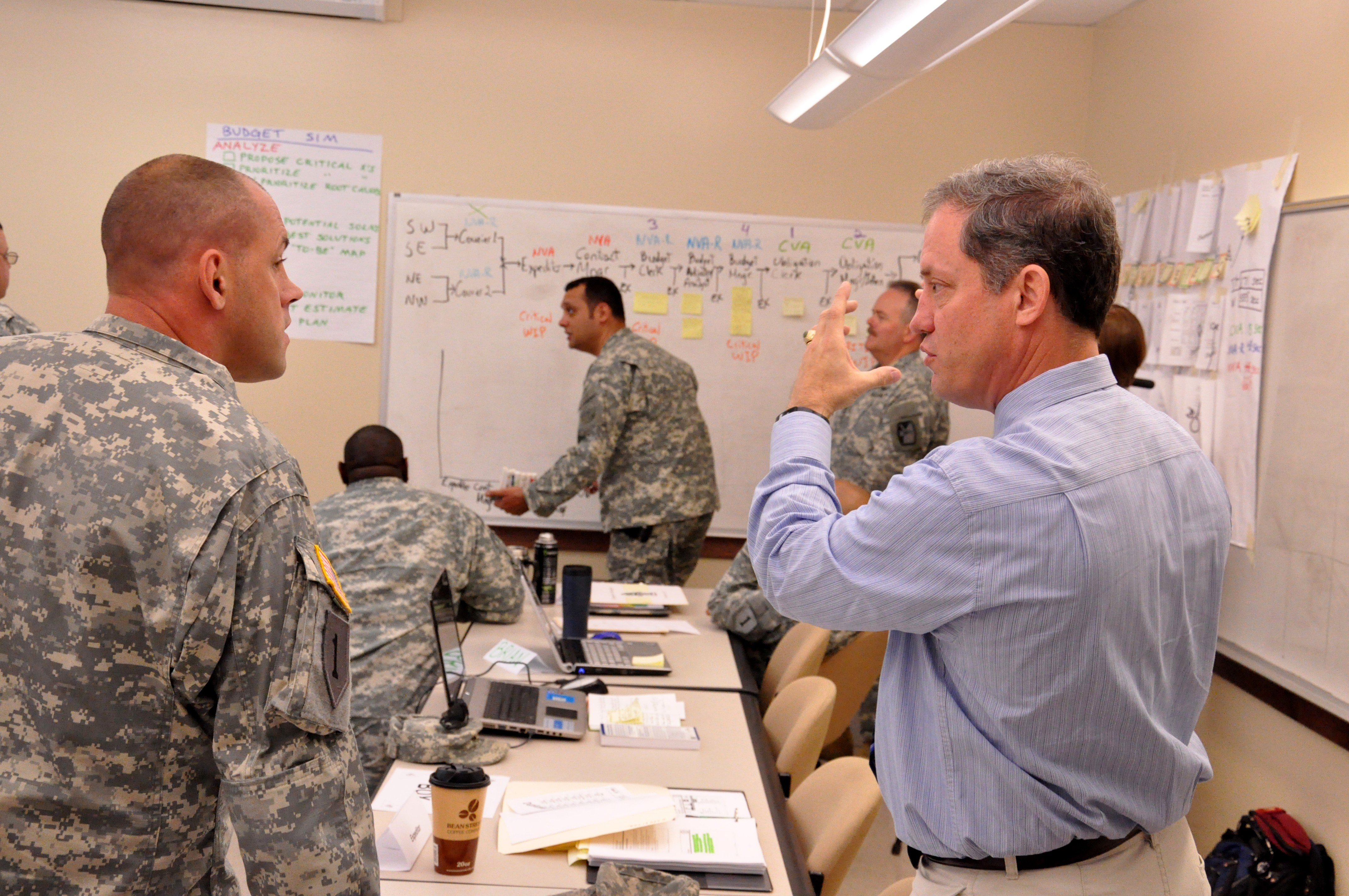 Lean Six Sigma Training For Fort Bragg Wounded Warriors Article