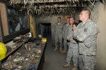 Traveling trainer schools Fort Leonard Wood troops on IEDs