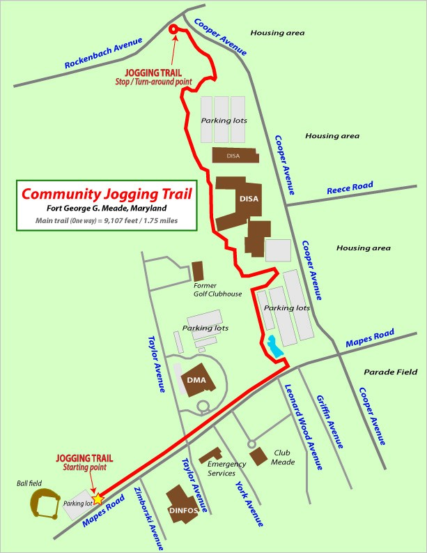 Revised jogging route replaces Courses trail | Article | The