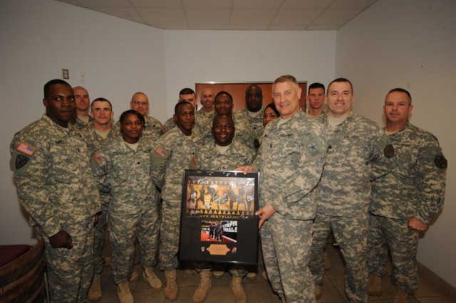SMA Chandler breaks biscuits with World Class Athlete Program Soldiers