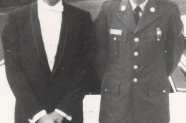 Leslie H. Sabo Jr. (right) and his older brother, George.