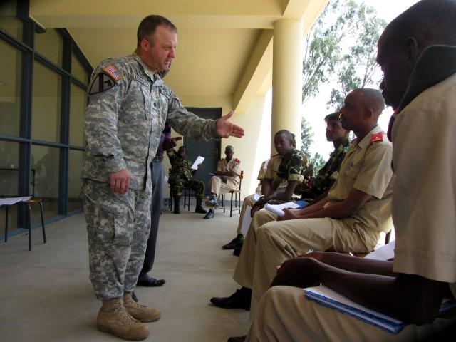 U.S. Army Africa chaplain team engages Burundi counterparts