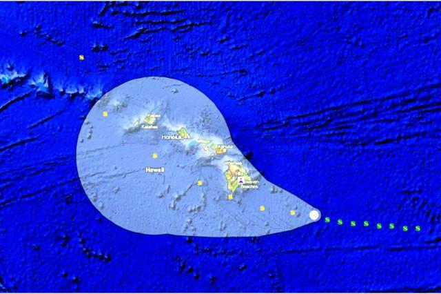 Hurricane exercise Makani Pahili will use a simulated hurricane path through the Hawaiian Islands.