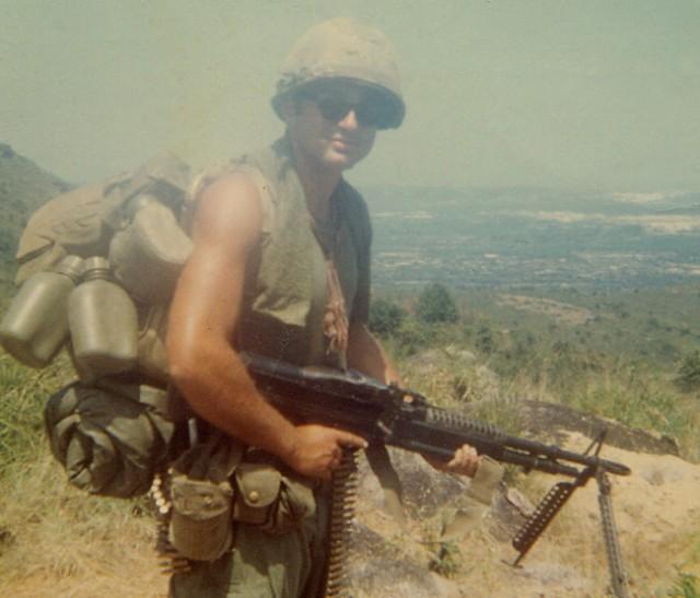 Leslie H. Sabo Jr. in battle rattle