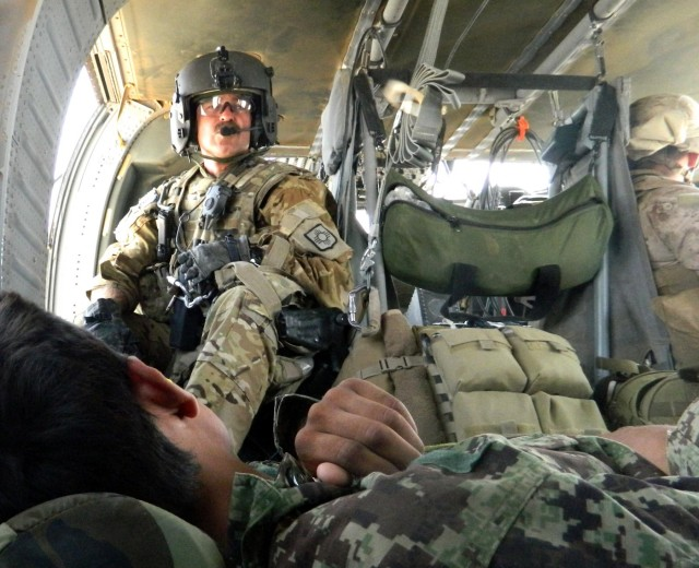 Army National Guard medics among first to attend revamped flight medic program