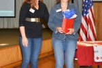 Red Cross Volunteers recognized for their service at Fort Hood, CRDAMC