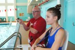 Jonathan Cole supervises aquatic activities at Fort Rucker