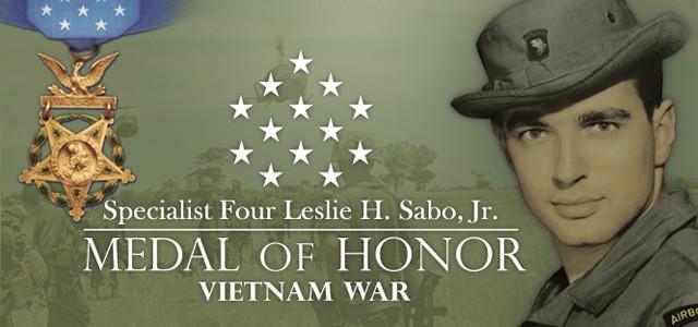 Medal of Honor: Spc. 4 Leslie H. Sabo, Jr.
