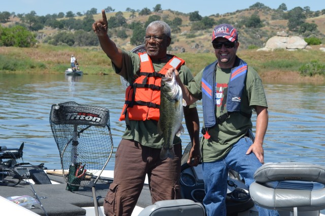 Corps pays tribute to veterans with day of fishing