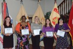 Spouses honored