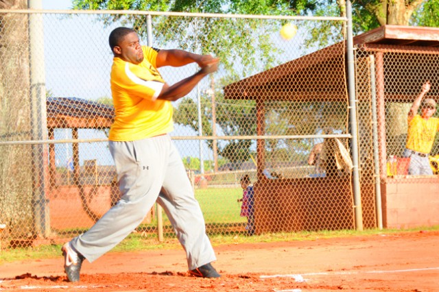 Intramural softball swings into action