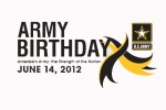 Army Birthday spotlight graphic